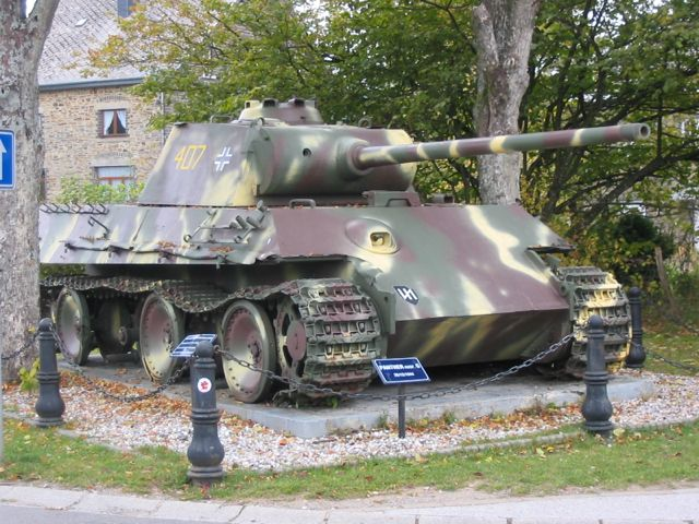 Image result for panther tank